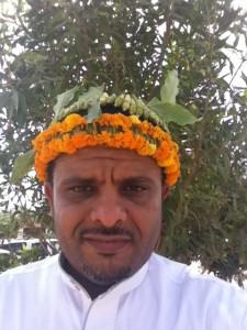 زينة الرأس بالنباتات العطرية التقليدية